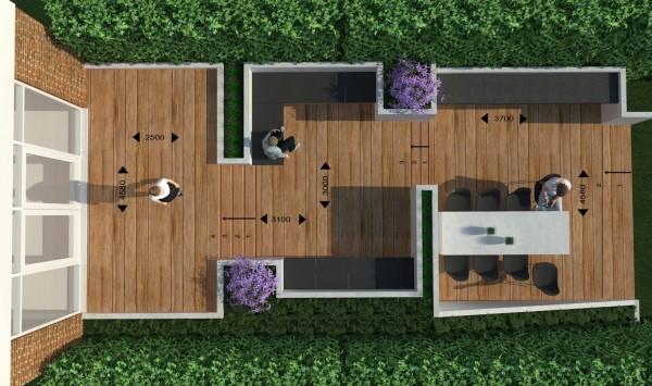 Nieuw ontwerp terras tuin maastricht nieuws n architecten n